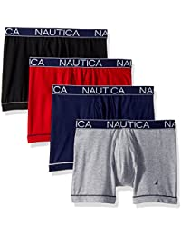 Men's Comfort Cotton Underwear Boxer Brief Multi Pack
