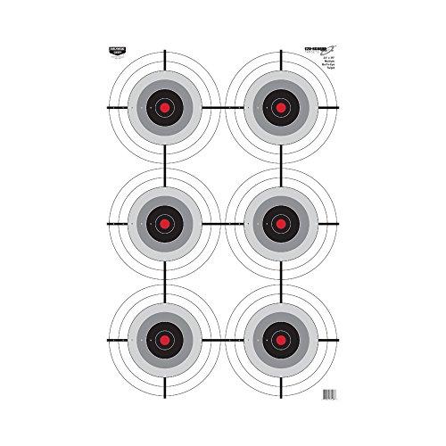 Birchwood Casey Eze-Scorer Multi-Bull's-Eye Target (Per 5), 23 x 35-Inch