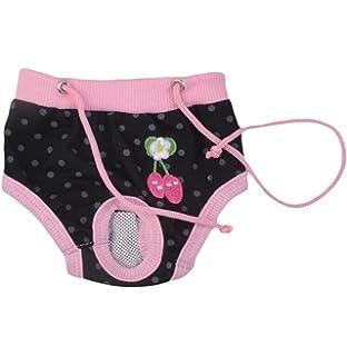 WA 1 pcs hembra de mascota Perro Algodón sanitarios fisiológicos menstruales bragas ropa interior