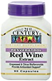 21st Century Resveratrol Red Wine Extract Capsules 90-Count Pack of 12 Discount