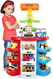 Click N' Play 38Piece Pretend Play Kids Grocery Supermarket Play Set Toy