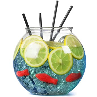 Bar@Drinkstuff - Pecera cóctel plástico 100oz / 2.9ltr / 18,5 cm