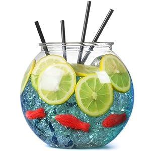 Plastic fish bowl 5 pints buy 2 get 1 free for Fish bowl amazon