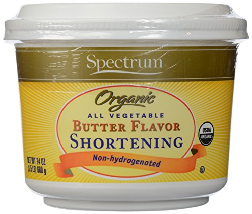 Spectrum Organic All Vegetable Butter Flavor Shortening -- 24 oz (Flavored Baking Oils compare prices)