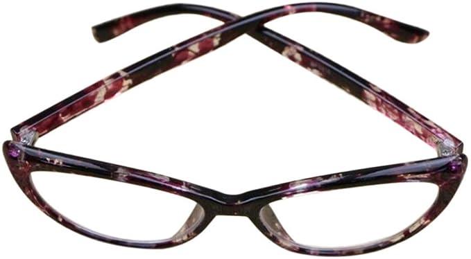 1.00 /à 4.00 Inlefen Lady lunettes de lecture Oeil de chat Plein cadre Force: