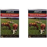 Semilla praderas alfalfa Aragón Lote de dos cajas peso total 2kg