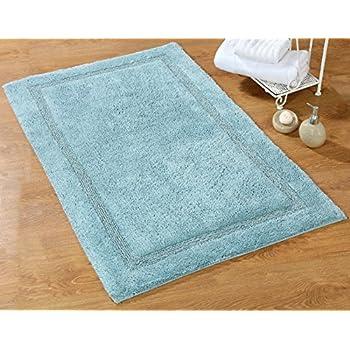 Amazon.com: Bath Rug - Saffron Fabs 100% Soft Cotton, 50 ...