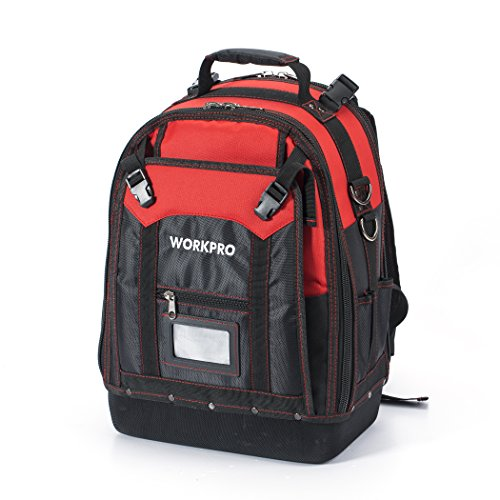 WORKPRO Backpack Tradesman Organizer Pockets product image