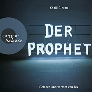 Der Prophet Audiobook