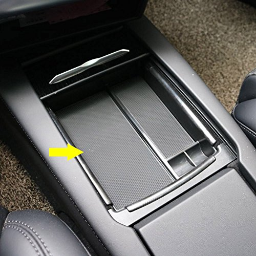 Rqing For Tesla Model X Model S 2016 2017 2018 Center Console Armrest Storage Box Holder Container Glove Pallet