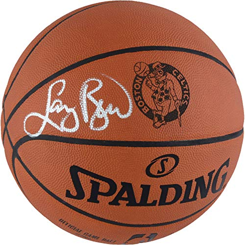 Larry Bird Boston Celtics Autographed Laser Engraved NBA Official Game Basketball - Fanatics Authentic Certified
