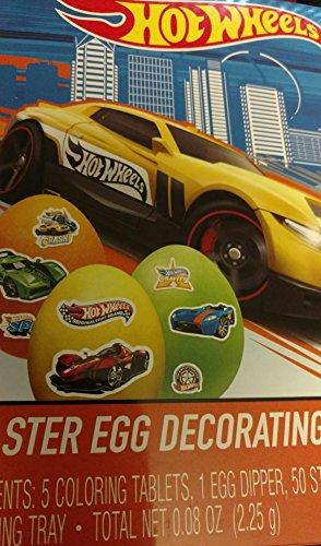 Hot Wheels Easter Egg Decorating Kit