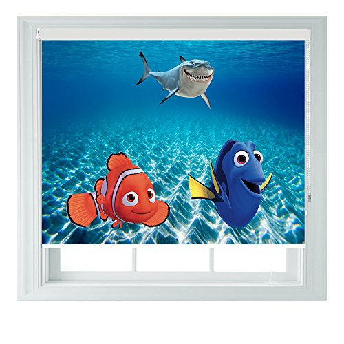 AOA Finding Nemo Dory Style Various Sizes Black Out Roller Blinds for Bedrooms Bathrooms Kitchens and Caravans (3ft/91cm)