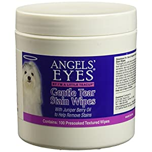PEUCD Angels' Eyes Gentle Tear 100 ct Presoaked Textured Stain Wipes