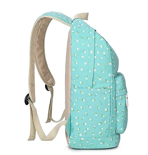 OPSUN - Bolso mochila  para mujer Taille Unique Azul