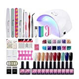 Saint-Acior Gel Nail Polish Starter Kit-36W LED