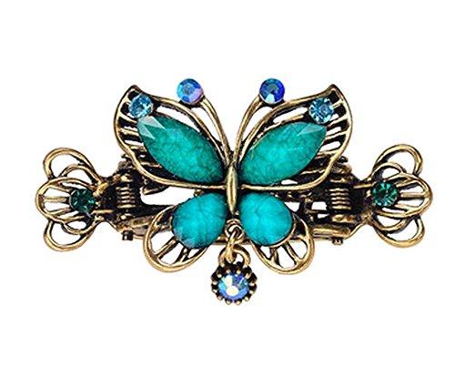Diseño chino garras del pelo / pinzas de adornos para el cabello de la vendimia, clips de mariposa, F
