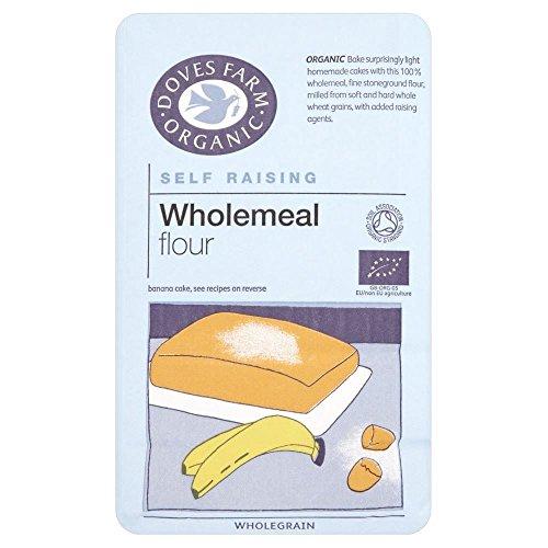 Doves Farm Organic Self Raising Wholemeal Flour (1Kg)