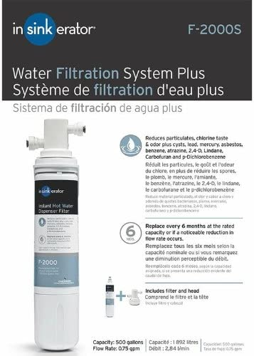 InSinkErator F-2000S Under Sink Water Filter