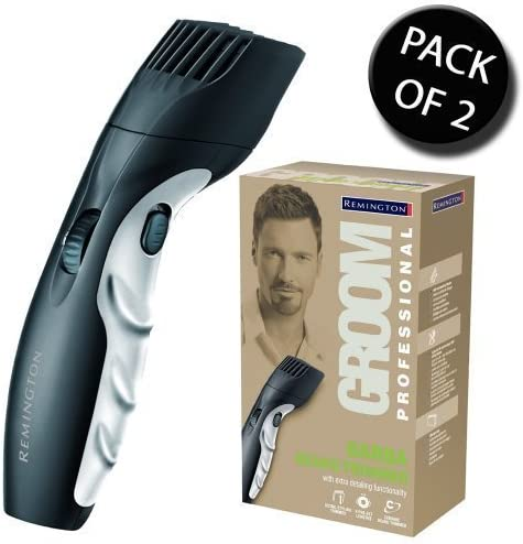 2x Remington MB320C Pro Diamond Cord & Cordless Ceramic Barba ...