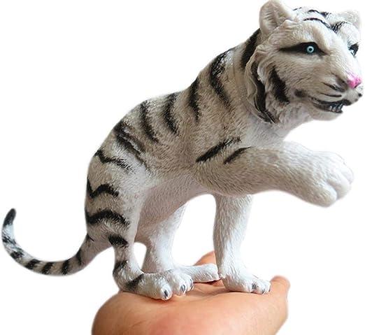 PHJK Figurines para jardín Animales para jardín Simulación Modelo Animal simulación Vida Silvestre CRA: Amazon.es: Hogar