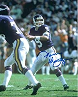 Autographed Tommy Kramer 8x10 Minnesota Vikings Photo with COA
