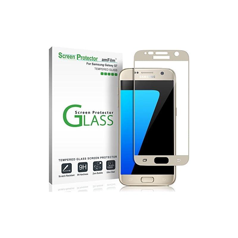 amFilm Galaxy S7 Screen Protector Glass