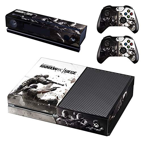 Xbox One Skin Set - Rainbow six Siege HD Printing Skin Cover Protective for Xbox One Console, Kinect & 2 Controller by Mr Wonderful Skin (Best Rainbow Six Siege Skins)