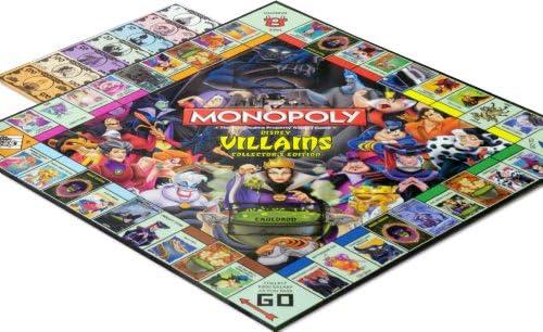 Disney Monopoly Game Villains Edition by Disney: Amazon.es: Juguetes y juegos