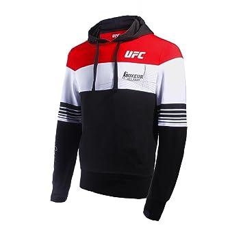 BOXEUR DES RUES Fight Activewear Serie, Sudadera con Capucha con Logo UFC Hombre, Hombre, BX-4951H, Negro, Medium: Amazon.es: Deportes y aire libre