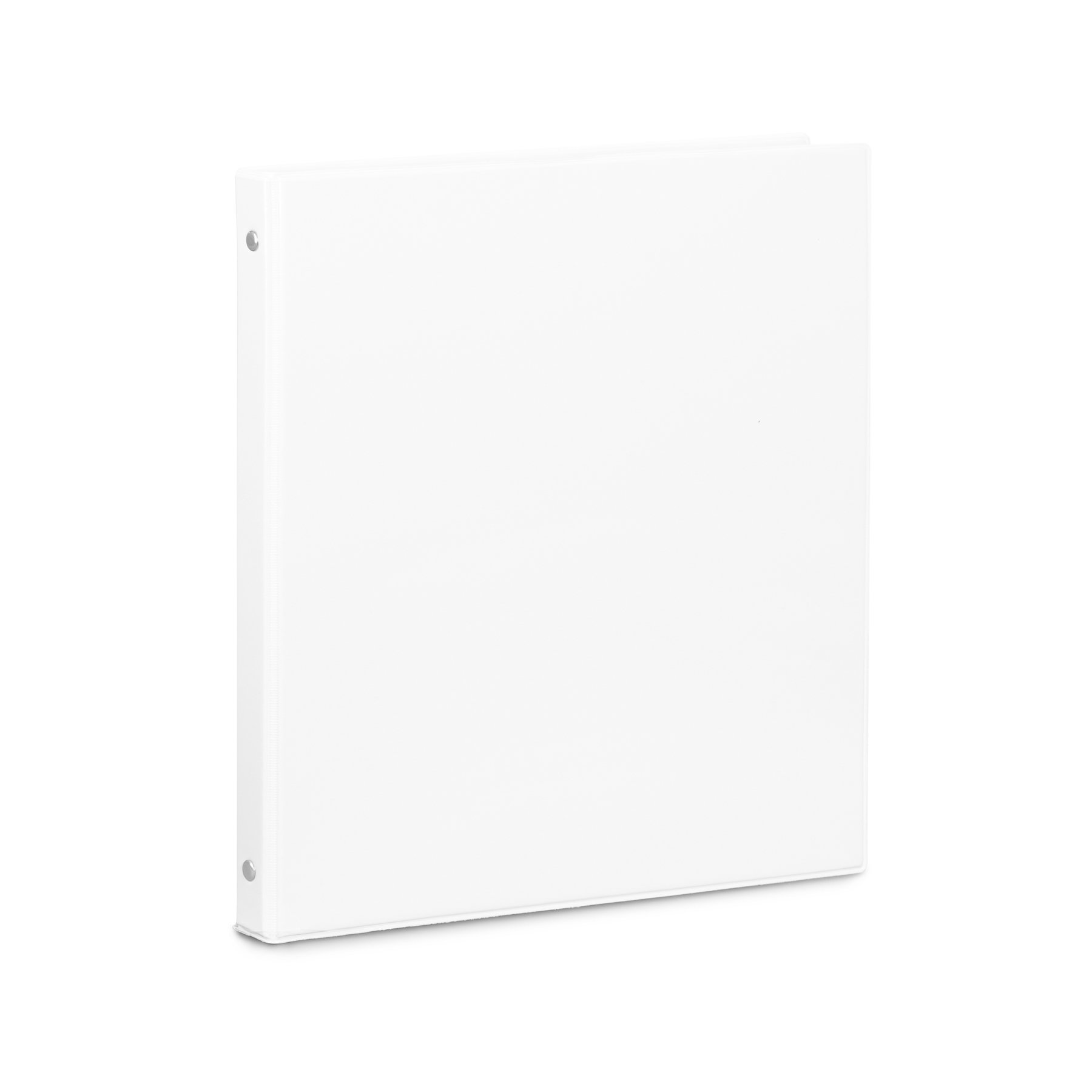 Blue Summit Supplies 10 Pack of 1/2 inch 3-Ring Economy Binders, White, Bulk Clear Cover Binders for Home, Office, and School, 8 1/2 inch x 11 inch Paper, Value Pack by Blue Summit Supplies (Image #3)