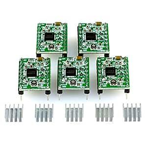 5x a4988módulo de controlador de motor paso a paso con disipador de calor–para CNC escudos, rampas 1,4, 3d impresora, Prusa Mendel