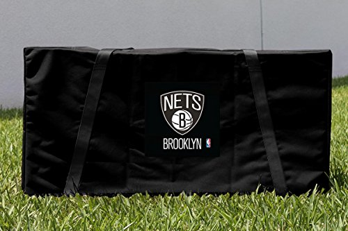 Victory Tailgate Brooklyn BKN Nets NBA Cornhole Carrying Case by Victory Tailgate