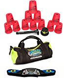 Speed Stacks Custom Combo Set: 12 NEON PINK Cups, Pro Timer 4, Cup Keeper, Quick Release Stem, Gear Bag