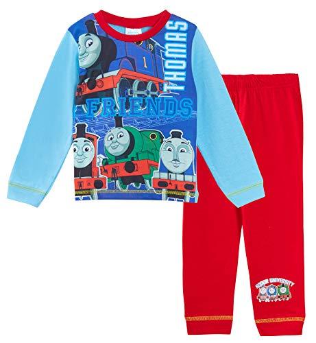Thomas The Tank Engine Pyjamas Boys Full Length Character Pjs Sodor University 4-5 Years (Dinosaur Train Pajamas)