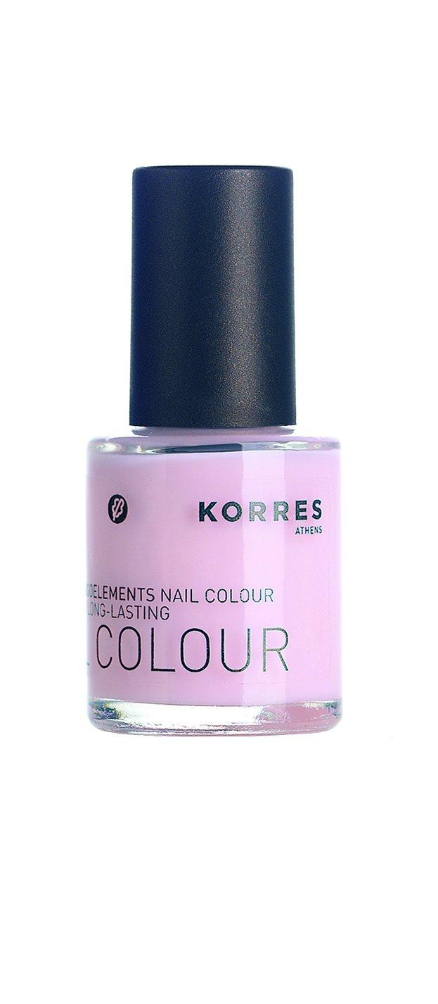 KORRES Nail Colour, Baby Pink 11 ml: Amazon.co.uk: Luxury Beauty