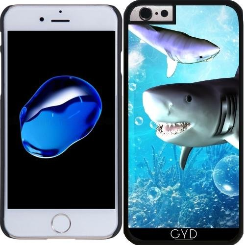 Coque pour Iphone 6 Plus (5,5'') - Requin Impressionnant by nicky2342