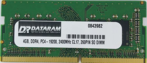 DATARAM 4GB DDR4 PC4-2400 SO DIMM Memory RAM Compatible for sale  Delivered anywhere in Canada