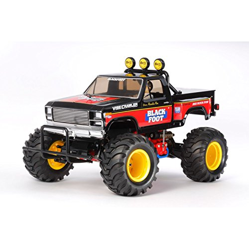 Tamiya 1/10 2016 Blackfoot 2WD Kit - Tamiya Rc Truck