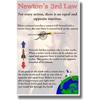 Amazon com: Newton's 1st Law - NEW Classroom Physics Science