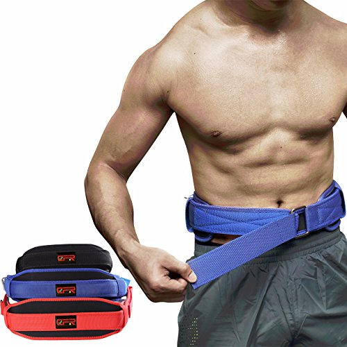 Fittoo Premium Quality Weight Lifting Belt for Men and Women Back Brace and Support Belt for Gym Stabilizing Lower Back Support for Weightlifting