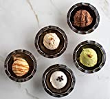 Tuscan Kitchen Gelato Sampler, five 12 oz. containers, one of each flavor.