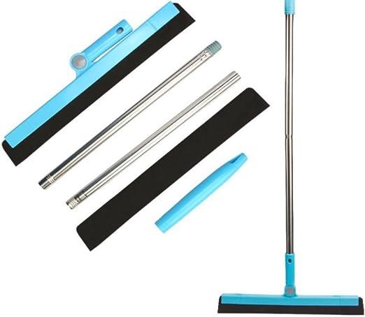 Limpiaparabrisas para limpiar el suelo o la ventana, limpiaparabrisas y limpiaparabrisas de agua, cepillo de cristal para limpiar el pelo del baño o el suelo mojado: Amazon.es: Hogar