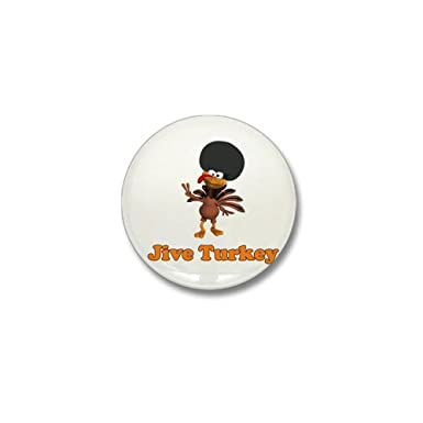 Amazon.com: CafePress – Jive Turquía Mini botón – 1