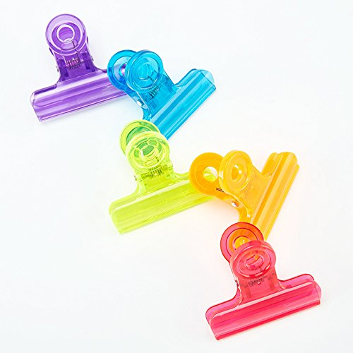 WHHQWER 120 Pcs/Set Clip Plástico Pequeño Monedero De Color ...