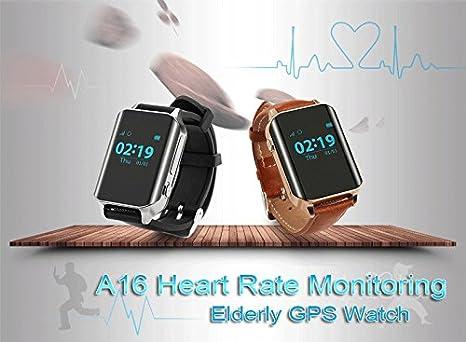 GPS Tracker,Pulsera Inteligente, Pulsera Actividad,GPS Reloj Teléfono, SOS Smart Watch,TKSTAR Reloj GPS Tracker para ancianos GPS pulsera Google Map ...
