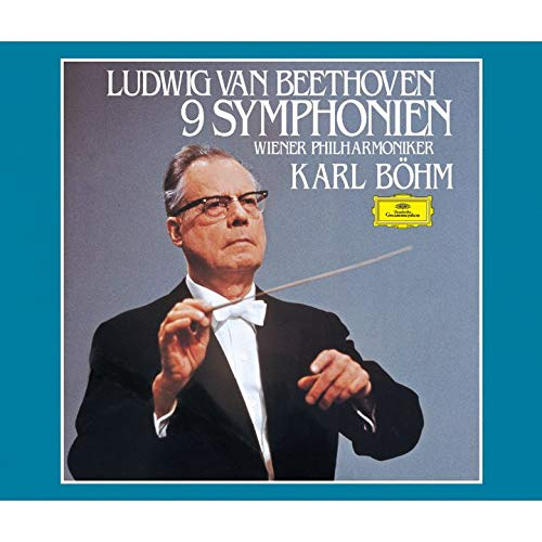 SACD : BOHM,KARL - Beethoven: 9 Symphonies (Limited Edition, Direct Stream Digital, Super-High Material CD, Japan - Import, Single Layer SACD)