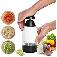 Vegetable Chopper Tomato Shredder Fruit Vegetable Tools Slicer Gadgets Fruit Accessories Kitchen Tools Garlic Triturator Food Chopper with Stainless Steel Blades