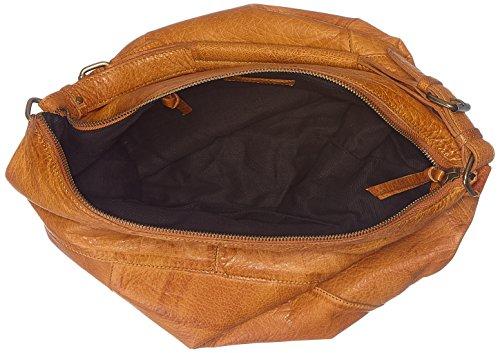 Marrón 17086560 Cognac Mujer Bolso PIECES tvwHqq