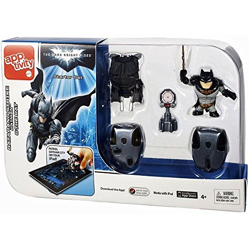 Batman The Dark Knight Rises Apptivity Starter Set ,#G14E6GE4R-GE 4-TEW6W250822